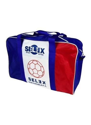Selex 6 Lı Hentbol Top Çantası Renkli